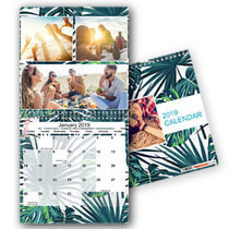 20 x 30cm x 30cm Double Personalised Calendar incl Delivery