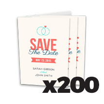 4 x 6inch Greeting Card x 200 @ $0.79 each incl Delivery